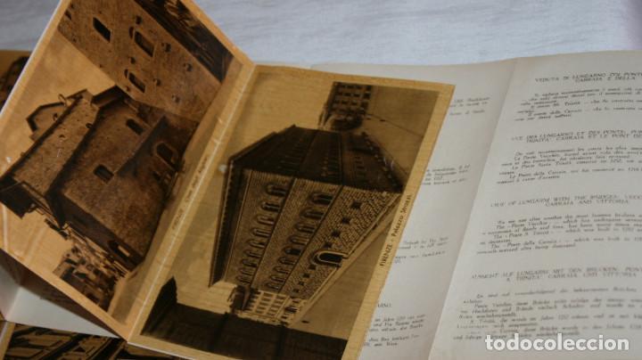Libros antiguos: ANTIGUO LIBRETO CON 32 HOJAS DE FOTOS DE FLORENCIA CON DESCRIPCION DETRAS, 7 DE UNA PANORAMICA - Foto 4 - 151656862
