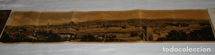 Libros antiguos: ANTIGUO LIBRETO CON 32 HOJAS DE FOTOS DE FLORENCIA CON DESCRIPCION DETRAS, 7 DE UNA PANORAMICA - Foto 5 - 151656862