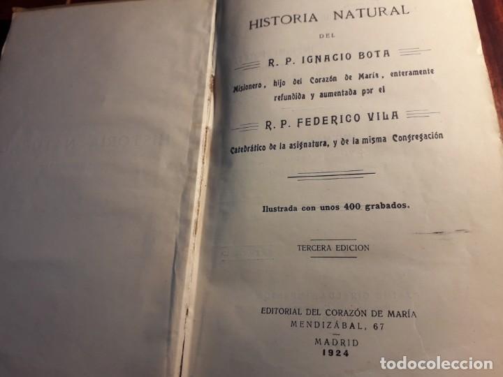 HISTORIA NATURAL (Libros Antiguos, Raros y Curiosos - Historia - Otros)