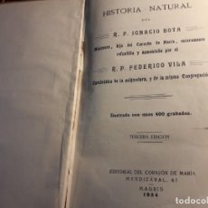 Libros antiguos: HISTORIA NATURAL . Lote 151657534