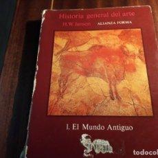 Libros antiguos: HISTORIA GENERAL DEL ARTE. Lote 151657894