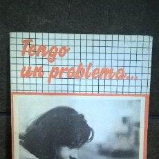 Libros antiguos: TENGO UN PROBLEMA...KARL RAHNER RESPODE A LOS JOVENES. SAL TERRAE 1985. . Lote 151750574