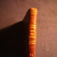 Libros antiguos: CASTELLO VILA Y GAFAS: - EL LIBRO DEL DESTINO DEL AMOR Y LA FORTUNA, O NUEVO ORACULO - (1877) . Lote 151849794