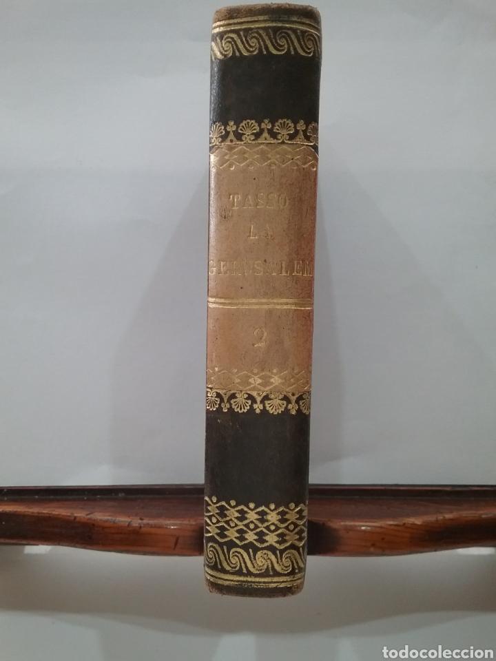Libros antiguos: Libro La Gerusalemme liberata di Torcuato Tasso Tomó I. Ediciones stereotipa 1828. - Foto 2 - 151939189