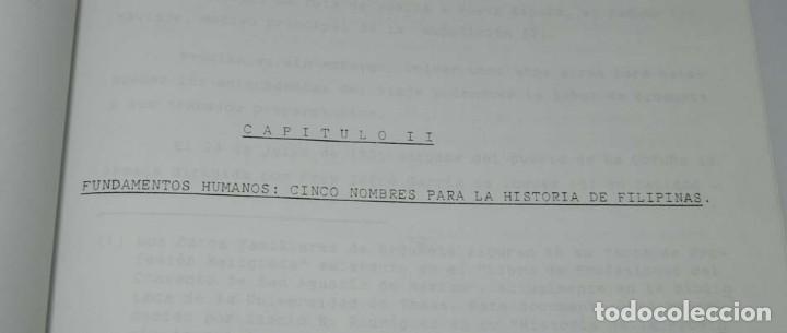 Libros antiguos: José Luis PORRAS CAMUÑEZ, La posición de la Iglesia y su lucha por los derechos del indio filipino - Foto 6 - 151948702