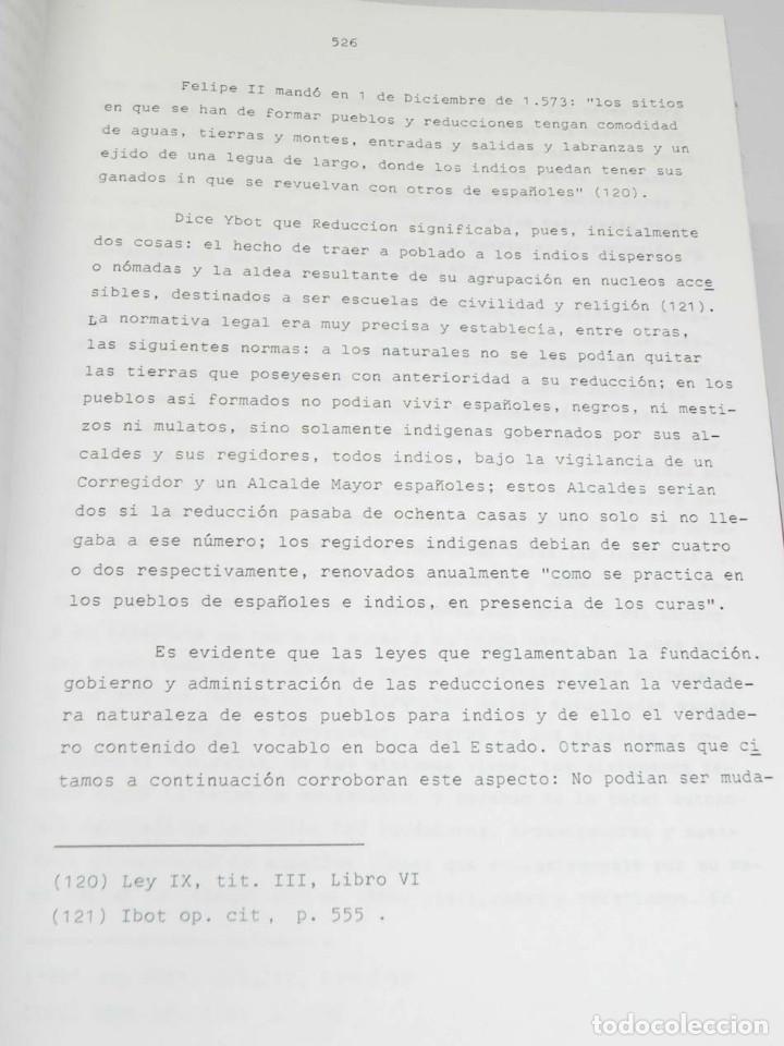Libros antiguos: José Luis PORRAS CAMUÑEZ, La posición de la Iglesia y su lucha por los derechos del indio filipino - Foto 8 - 151948702