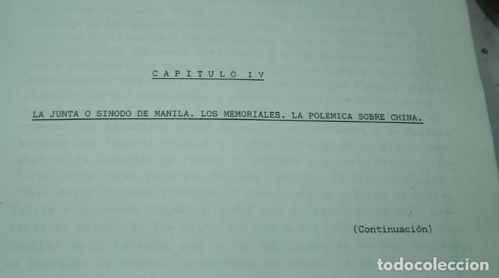 Libros antiguos: José Luis PORRAS CAMUÑEZ, La posición de la Iglesia y su lucha por los derechos del indio filipino - Foto 9 - 151948702