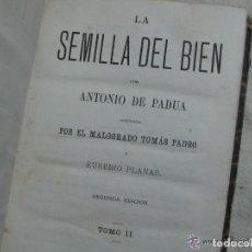 Libros antiguos: LOTE 10 LIBROS ANTIGUOS. Lote 151999398