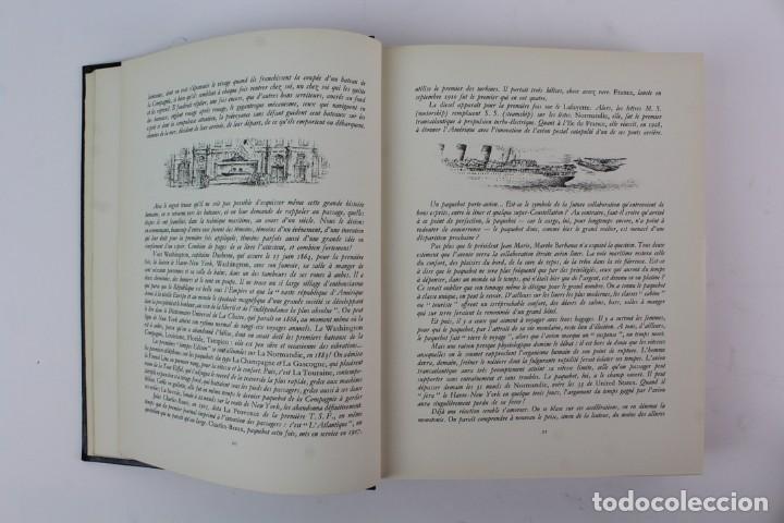 Alte Bücher: L-2366 HISTOIRE DE LA COMPAGNIE GENERALE TRANSATLANTIQUE. ROGER VERCEL.ED METIERS GRAPHIQUE AÑO 1955 - Foto 6 - 152004498