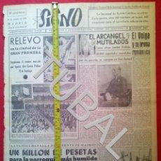Libros antiguos: TUBAL 1941 DIVISION AZUL 400 VOLUNTARIOS MILLAN ASTRAY SIGNO SEMANARIO TAMAÑO GIGANTE 25 OCTUBRE. Lote 152022370