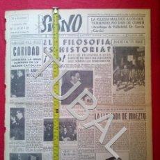 Libros antiguos: TUBAL 1941 DIVISION AZUL CHIPI TRIUNFA EN RUSIA SIGNO SEMANARIO TAMAÑO GIGANTE 1 NOVIEMBRE. Lote 152022786