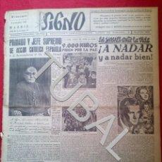Libros antiguos: TUBAL 1941 ATLETICO DE MADRID MANIN SIGNO SEMANARIO TAMAÑO GIGANTE 8 NOVIEMBRE. Lote 152023366