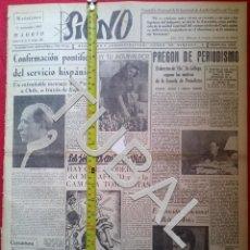 Libros antiguos: TUBAL 1941 8 PGS SIGNO SEMANARIO TAMAÑO GIGANTE 15 NOVIEMBRE. Lote 152024022
