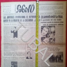 Libros antiguos: TUBAL 1941 TRIUNFA EN LA DIVISION AZUL LUIS MAYAYO SIGNO SEMANARIO TAMAÑO GIGANTE 22 NOVIEMBRE. Lote 152024390