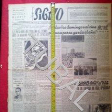 Libros antiguos: TUBAL 1941 RAMON DE CASTRO TRIUNFA EN LA DIVISION AZUL SIGNO SEMANARIO TAMAÑO GIGANTE 6 DICIEMBRE. Lote 152025290