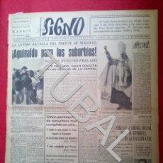 Libros antiguos: TUBAL 1941 MUERTO Y HERIDO DIVISION AZUL SIGNO SEMANARIO TAMAÑO GIGANTE 20 DICIEMBRE. Lote 152026506