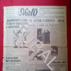 Libros antiguos: TUBAL 1941 JULIO ARGUINDEY TRIUNFA DIVISION AZUL SIGNO SEMANARIO TAMAÑO GIGANTE 27 DICIEMBRE. Lote 152027038