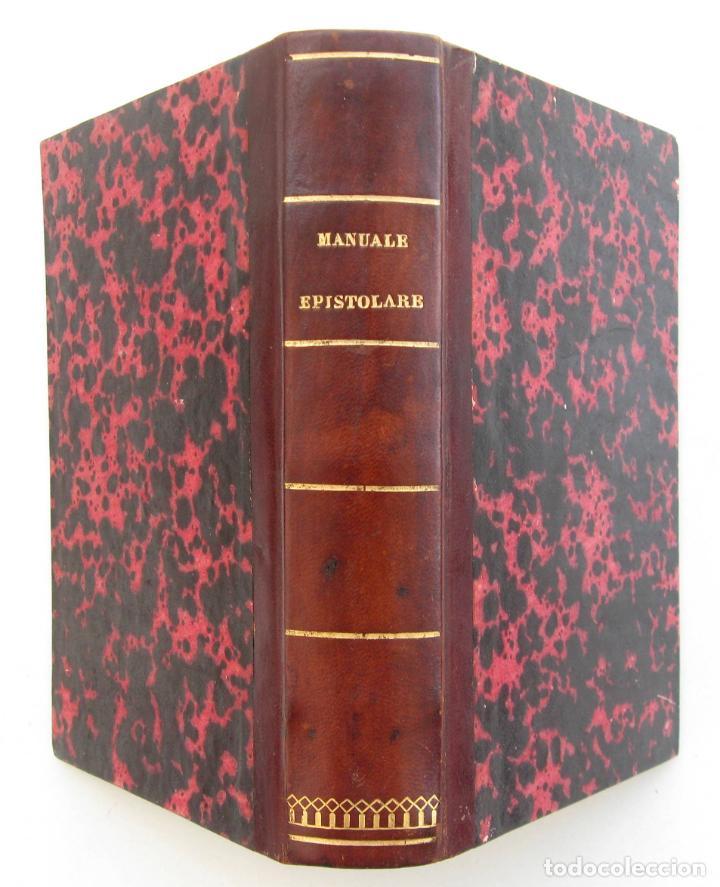 1816 ANTIGUO MANUAL EPISTOLAR EN ITALIANO SIGLO XIX. DOMENICO MILONE: IL PERFETTO MANUALE EPISTOLARE (Libros Antiguos, Raros y Curiosos - Ciencias, Manuales y Oficios - Otros)
