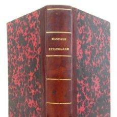 Libros antiguos: 1816 ANTIGUO MANUAL EPISTOLAR EN ITALIANO SIGLO XIX. DOMENICO MILONE: IL PERFETTO MANUALE EPISTOLARE. Lote 152030570