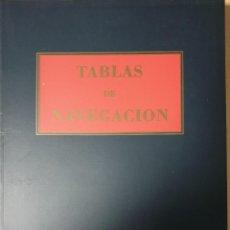 Libros antiguos: TABLAS DE NAVEGACION DE MARTINEZ JIMENEZ. Lote 152031610