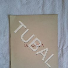 Libros antiguos: TUBAL LA BORDETA UNIÒ EXCURSIONISTA DE CATALUNYA 1969 FOLLETO. Lote 152035090