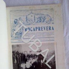 Libros antiguos: TUBAL 1973 TORELLÒ ROCAPREVERA LAS 14 REVISTAS ENCUADERNADAS. Lote 152035986