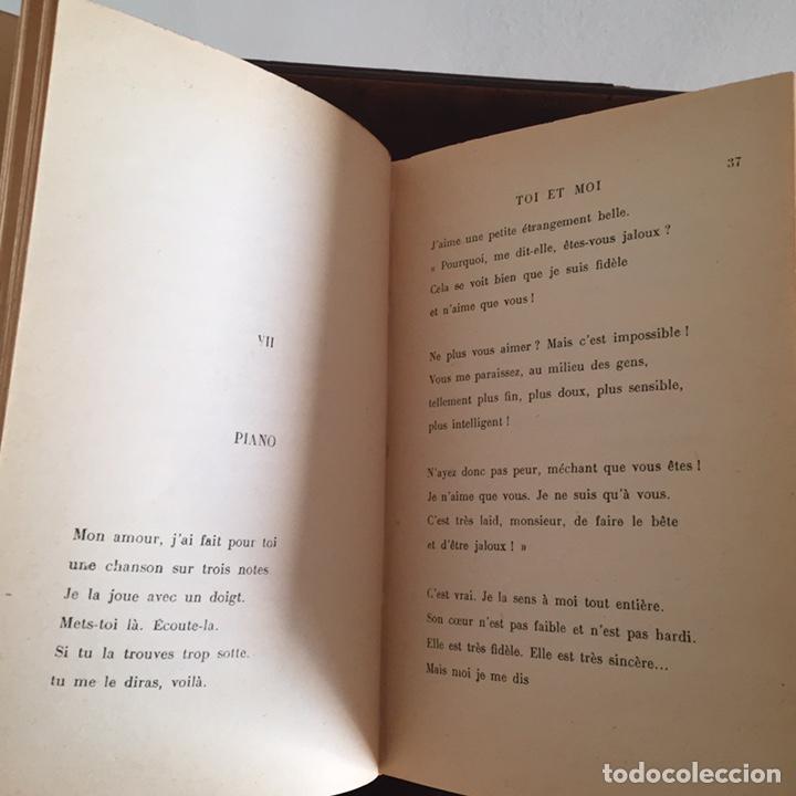 Libros antiguos: Libro Toi et Moi de Paul Géraldy 1913 - Foto 7 - 152041700