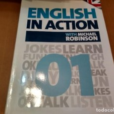 Libros antiguos: ENGLISH IN ACTION. Lote 152051190
