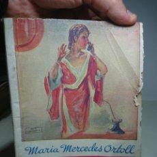 Libros antiguos: LAS PUERTAS DE LA FELICIDAD, MARIA MERCEDES ORTOLL, NOVELA ROSA. Lote 152055909
