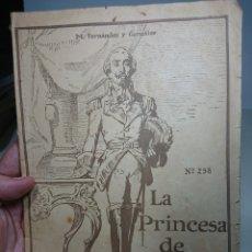 Libros antiguos: LA PRINCESA DE LOS URSINOS, TOMO CUARTO, 298. Lote 152056457