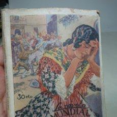 Libros antiguos: EL NIÑO PERDIDO, NOVELA MUNDIAL, POR DIEGO SAN JOSÉ. Lote 152056721