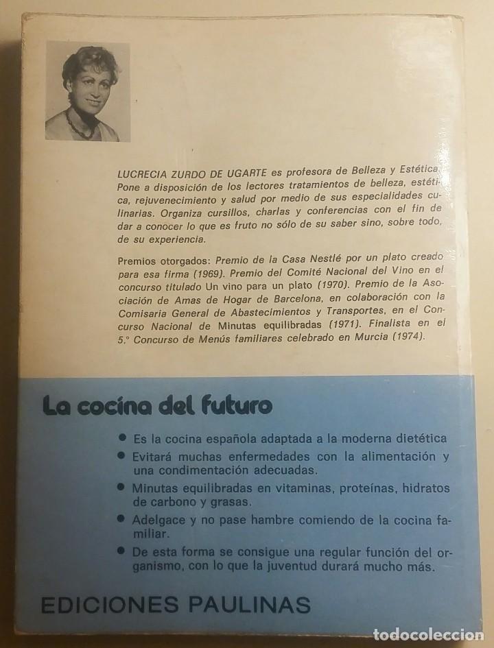 Libros antiguos: La cocina del futuro 2 - Foto 2 - 152057838