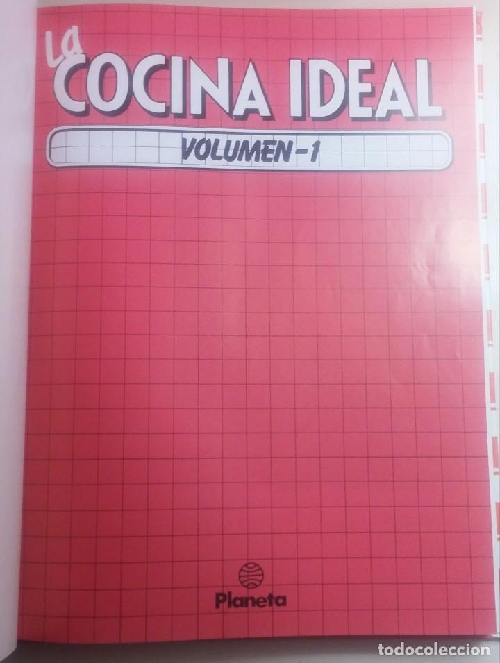 Libros antiguos: La cocina ideal. 8 Volúmenes - Foto 3 - 152058086