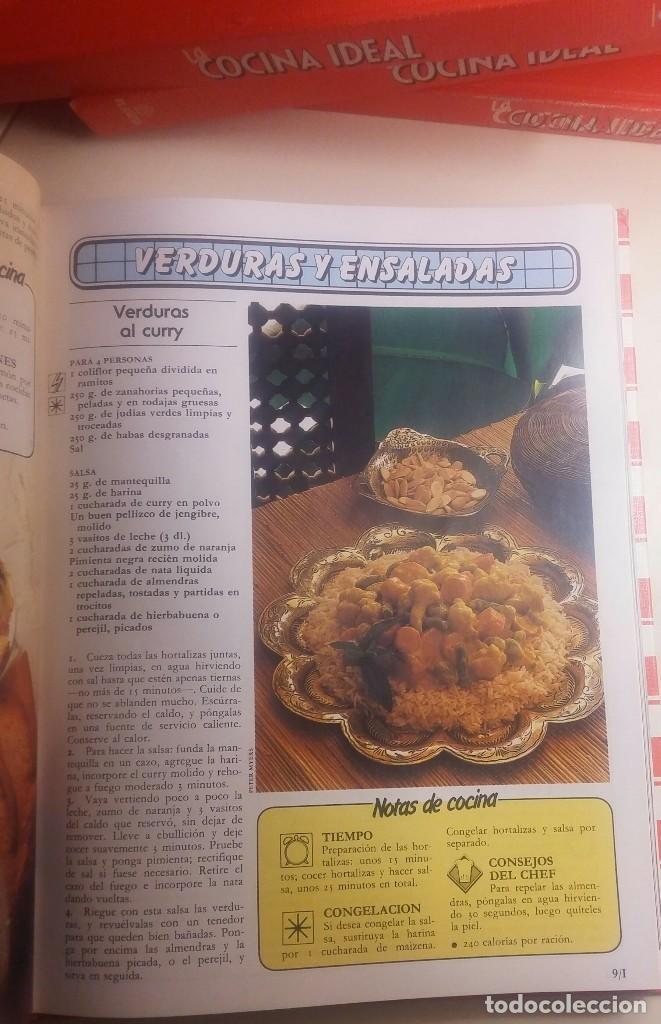 Libros antiguos: La cocina ideal. 8 Volúmenes - Foto 5 - 152058086