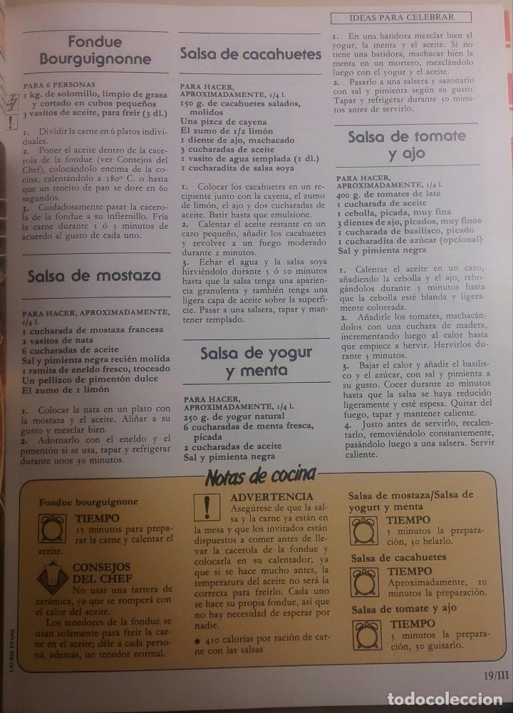 Libros antiguos: La cocina ideal. 8 Volúmenes - Foto 9 - 152058086