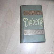 Libros antiguos: CHARLES DICKENS, W.COLLINS, EL ABISMO, ED. POMENECH, BARCELONA 1913. Lote 152126702