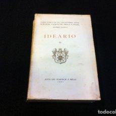 Libros antiguos: JUAN VÁZQUEZ DE MELLA Y FANJUL. (IDEARIO III) VOLUMEN IV DE LAS OBRAS COMPLETAS. 1931. Lote 152132970