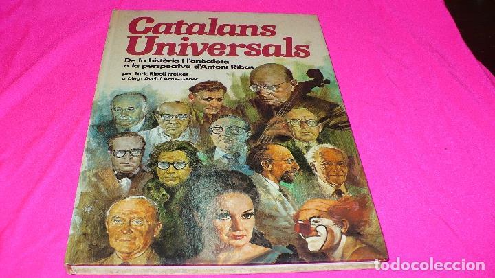 CATALANS UNIVERSALS, EDITORIAL HMB DEL 1980. (Libros Antiguos, Raros y Curiosos - Ciencias, Manuales y Oficios - Otros)