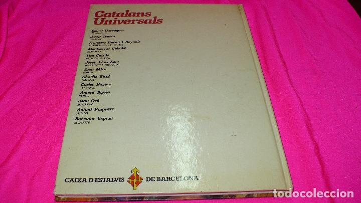 Libros antiguos: catalans universals, editorial hmb del 1980. - Foto 3 - 152163258