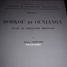 Libros antiguos: ROBERT CAPOT-REY.INSTITUTO ESTUDIOS SAHARIANOS.EN FRANCES.ARGEL.1961.MUY DIFICIL. Lote 152175102