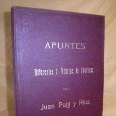 Libros antiguos: VISITAS A FABRICAS CATALANAS - AÑO 1908-1909 - ANTIGUO LIBRO MANUSCRITO·ILUMINADO - MUY RARO.. Lote 152205610