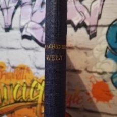 Libros antiguos: LA CHENDE WELT. Lote 152221532
