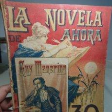 Libros antiguos: GUY MANERING, LA NOVELA DE AHORA N° 5. Lote 152229078