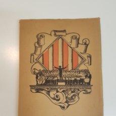 Libros antiguos: ORFEÓ CATALÀ DE BUENOS AIRES / 1917 A 1923. Lote 152229364