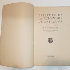 Libros antiguos: POR LA AUTONOMÍA DE CATALUÑA 1919. Lote 152231749