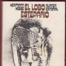 Libros antiguos: EL LOBO ESTEPARIO HERMANN HESSE EDIT ALIANZA AÑO 1992 PÁGINAS 235 LL2798. Lote 152254978