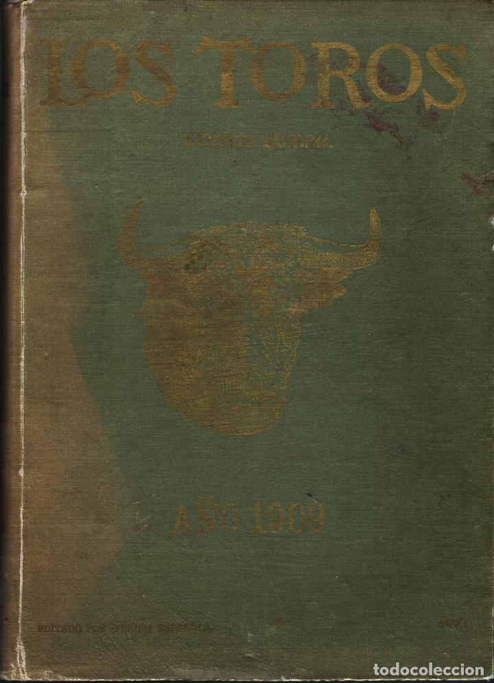 LOS TOROS. REVISTA TAURINA (Libros Antiguos, Raros y Curiosos - Ciencias, Manuales y Oficios - Otros)