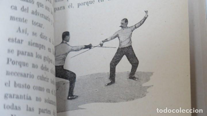 Libros antiguos: LA ESGRIMA DE FLORETE ESPADA Y SABLE. ROMAN DE LORCA-DIEZ - Foto 3 - 152292858