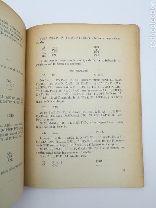 Libros antiguos: Ajedrez la defensa siciliana 1946 - Foto 3 - 152293618