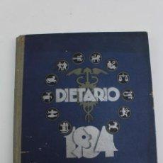 Libros antiguos: PR- 322. DIETARIO 1934. ALMACENES JORBA.. Lote 152318062
